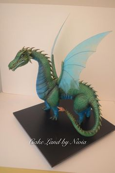 Lilia the dragon by Nivia