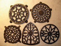Cast iron trivets