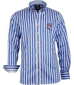 Maritimes #Herrenhemd aus der #Mode von Claudio #Campione.