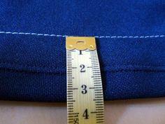 Trucos de costura: Cómo coger el dobladillo ¡sin marcar!