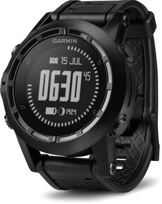 Inspired by special-ops forces—the Garmin Tactix GPS multifunction watch: altimeter, barometer, compass, waypoints and TracBac navigation