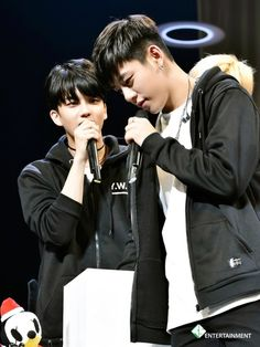 Youngjae and Daehyun
