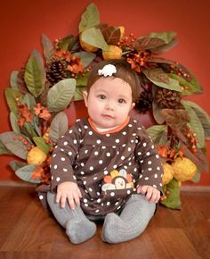c4fba687e3caf 176 Best Thanksgiving baby images in 2018 | Thanksgiving baby ...