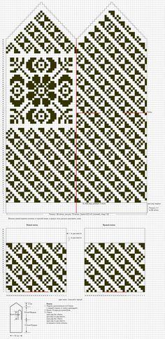 Albumiarkisto Crochet Mittens Free Pattern, Crochet Chart, Knitted Gloves, Knit Crochet, Knitting Charts, Hand Knitting, Knitting Patterns, Knit Stranded, Yarns