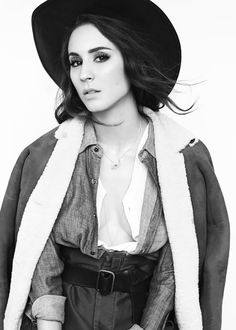 Troian Belisario is Cowgirl Cool for FLAUNT Shoot