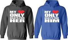UlanLi Shes My Weirdo /& Hes My Weirdo Couple Matching Hoodies