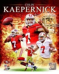 Colin #Kaepernick San Francisco 49ers 2012 NFL Composite Photo