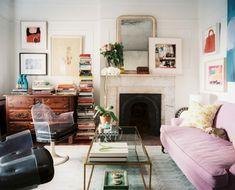 jenna lyons's chic soho loft | soho loft, soho and jenna lyons - Wohnzimmer Vintage Look