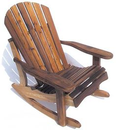 adirondack rocking chair plans - Google Search