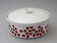 Malta, Dog Bowls, Finland, Crock, Porcelain, Ceramics, Dishes, Retro, Tableware