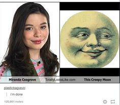 not sure who she is but she does look like that creepy moon