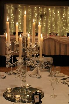 Table Centrepiece wedding decor Royal on the Park Brisbane wedding venue. Find out more...