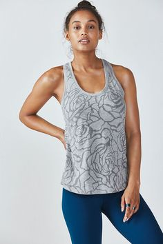 This tank is easy as cake. Did we just say cake on a fitness website? Seriously though, pair this piece with any bottoms, from workout to hang out.