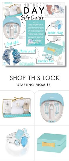 """""""Gifts For Mom"""" by queenvirgo ❤ liked on Polyvore featuring Adrienne Vittadini, Homedics, White Label, Ippolita, Kate Spade, Pashma and mothersdaygiftguide"""