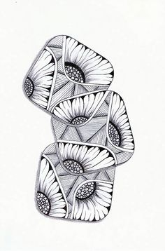 bouquet zendoodle