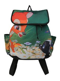 Disney Bambi Meets Flower Slouch Backpack | Hot Topic <<< I went there the other day and saw this! So cute!