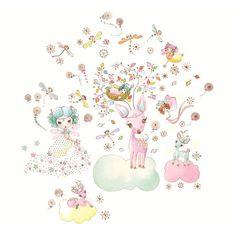 Wall Stickers Illuminated Fairy