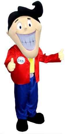 This is the Dealzie Dan mascot we made for Dealzies