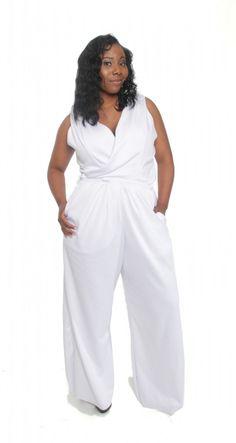 Plus SIze Jumpsuit (romper)  Annette Lea