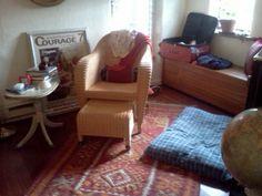 Bedroom yellow chair