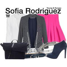 Inspired by Aimee Carrero as Sofia Rodriguez on Young & Hungry.