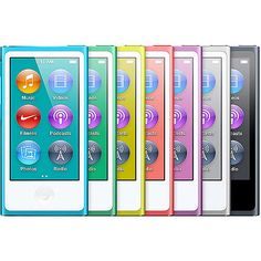 Free Ship All Colors Apple iPod Nano 7th Generation 16GB 8th Tested Used