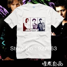 2013 summer t-shirt supernatural full combed cotton o-neck short-sleeve T-shirt $13.83