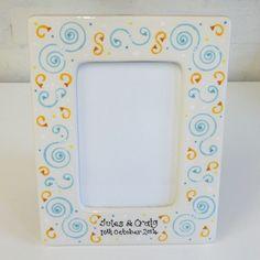 Personalised Ceramic Wedding Photo Frame £22.00