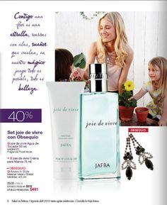 Set joie de vivre de la marca mexicana Jafra.