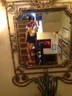 Ushijima Iiniku went to Com-con2015 and cosplay Sakura and Lilith! Big size photo of Sakura.#SDCC #ComicCon  #Cosplay |うしじまいい肉の投稿画像