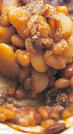 Calico Beans {or the BEST Baked Beans}