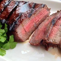 The secret to London Broil is a delicious Marinade. This is my marinade recipe for the perfect Grilled London Broil that will make your mouth water.