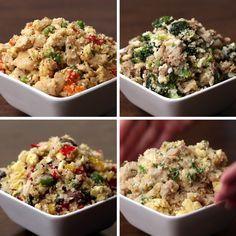 Fried Rice 4 Ways