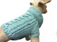 Pretty Dog Cardigan, dog jumper, dog coat, dog sweater, dog clothes, small dog clothing, handmade dog coat, knitted dog coat, pug coat UK