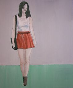 "Saatchi Online Artist richard kuhn; Painting, ""Model"" #art"