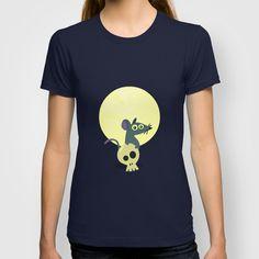 Moon Rat T-shirt by AnishaCreations - $22.00