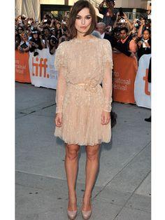 2011 Toronto International Film Festival, A Dangerous Method Premiere: Keira in  an Elie Saab haute couture dress