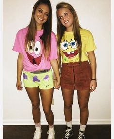 Looking for a simple, last minute halloween outfit you can quickly DIY? RELATED: 13 Disney-Inspired DIY Halloween Costumes for Adults. disfraces parejas amigas Scary Womens Halloween Costumes >> # for # Halloween Costumes . Cute Group Halloween Costumes, Halloween Costumes For Teens Girls, Original Halloween Costumes, Diy Halloween, Cute Best Friend Costumes, Cute Halloween Costumes For Teens, Halloween Costumes Bestfriends, Bff Costume Ideas, Two People Halloween Costumes