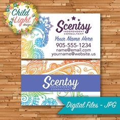 101 best authorized scentsy vendor scentsy business cards images authorized scentsy vendor business cards custom business card rainbow paisley personalized cards print your own colourmoves