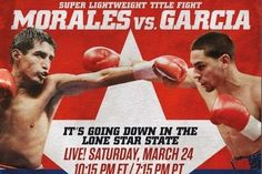 Boxing:  Danny Garcia Wins WBC Title With Unanimous Decision Over Erik Morales.    keepinitrealsports.tumblr.com