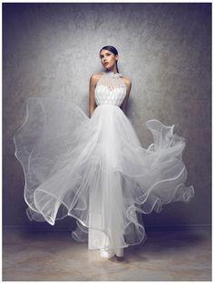 Princess Philipa wedding dress. $1,900.00, via Etsy.