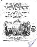 """Hydrodynamica: Sive de Viribus et Motibus Fluidorum Commentarii"" - Daniel Bernoulli, 1738, 337"