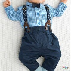 Cheap baby boy, Buy Quality baby outfits boys directly from China baby outfit Suppliers: Outfits Baby Boy Autumn Plaid Shirt Suspender Pants Formal Wedding Outfits Baby Outfits, Baby Boy Wedding Outfit, Baby Boy Christmas Outfit, Toddler Outfits, Kids Outfits, Wedding Outfits, Baby Dresses, Long Dresses, Suspenders Outfit