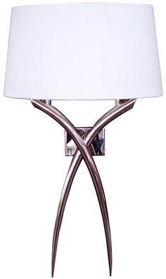 Arianna Nickel Wall Lamp