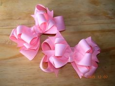 images of hair bows for little girls | ... solid color bow they are $ 6 for a single bow or a pair for $ 10
