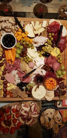 The ideal party platter, only at Evelyn Mansions
