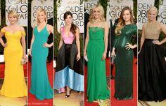 Red Carpet Fashion: 2014 Golden Globes