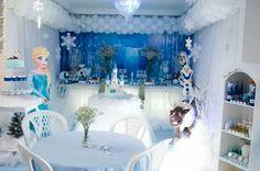 Festa Frozen Da minha linda Net Gabriela 4 anos