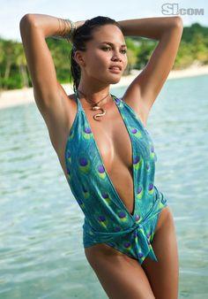 Chrissy Teigen in Daniela Corte - Sports Illustrated Swim 2011