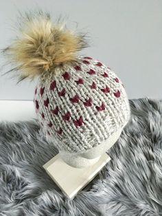 2049c4777bb Cordelia Knit Beanie Knitted Hat Fair Isle Beanie